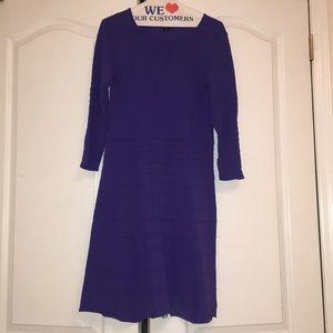 Tahari knit aline dress